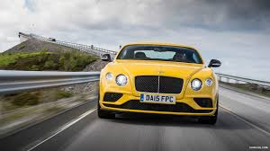 bentley yellow 2016 bentley continental gt v8 s monaco yellow front hd