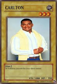 Carlton Meme - carlton banks card by urkel8534 on deviantart