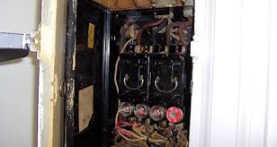 why is an old fuse panel dangerous