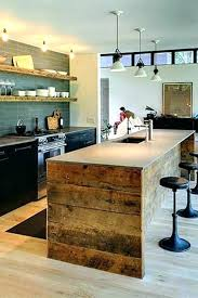 table cuisine bois massif table de cuisine en bois massif beautiful meuble cuisine bois
