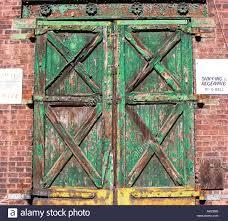 Painted Barn Doors by Barn Doors Old Paint Paint Peeling Peel Enter Entrance Exit
