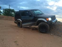 lifted mitsubishi montero 1997 montero sr build archive expedition portal