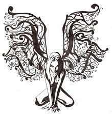 fairy tattoo design by saavke on deviantart