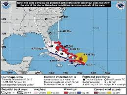 newberry observer hurricane irma likely for monday