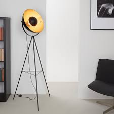 Coole Wohnzimmerlampe Briloner Leuchten Led Stehleuchte Stehlampe Studiolampe