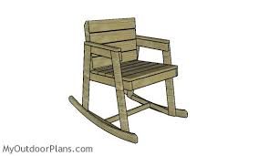 Plans For Outdoor Rocking Chair by Rocking Chair Plans Myoutdoorplans Free Woodworking Plans And