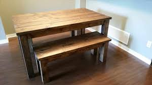 dining room tables with a bench caruba info