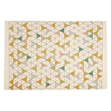 Yellow Flat Weave Rug Scales Large Cream And Multi Coloured Flat Weave Rug 170 X 240cm
