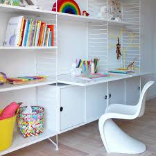 sous les jupes au bureau bureau étagères blanc blanc string furniture design adulte