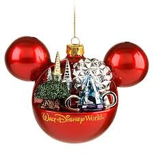 disney ornament mickey mouse ears 4 parks one