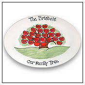personalized family platters personalized guest signature platters autograph platters signing