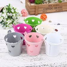Vertical Garden Pot - aliexpress com buy 2017 decorative bucket flower pot succulent
