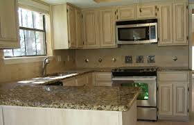 Brown Painted Kitchen Cabinets by Cream Colored Kitchen Cabinets Styleshouse