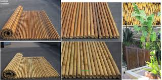 decor bamboo stick and bamboo poles for sale with outdoor design
