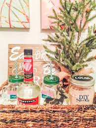 Christmas Gift Baskets Ideas Holiday Gift Basket Idea With Free Printables Diy Show Off