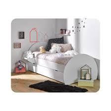 ma chambre d enfant lit enfant lune 90x190 cm blanc ma chambre d enfant la redoute
