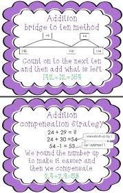 186 best math strategies images on pinterest addition strategies