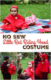 sew baby red riding hood costume loves glam