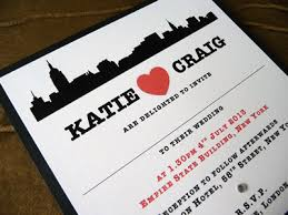 wedding invitations new york new york themed wedding invitations day stationery i do designs