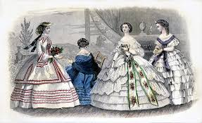 godeys book august 1860 godey s s book fashion plate from the aug flickr
