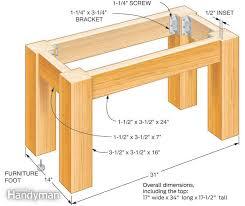 build your own table build your own concrete table the family handyman