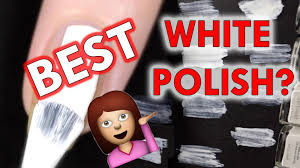 white nail polishes what u0027s the best youtube