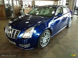 2012 cadillac cts colors 2012 opulent blue metallic cadillac cts 3 0 sedan 56481274