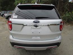 2017 New Ford Explorer Limited 4wd At Watertown Ford Serving
