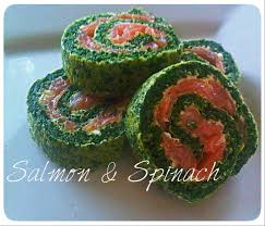 salmon and spinach roll u2013 easy and elegant cocktail party snack