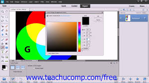 photoshop elements 12 tutorial using the color picker adobe