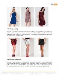 women dresses for various body types of women
