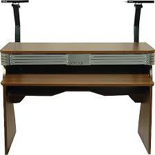 Dj Desk Sefour X60 Studio Dj Desk Tobacco Walnut Guitar Center