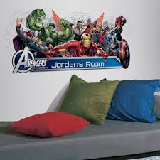 Popular Characters Murals Roommates Avengers Themed Bedroom Ideas Roommates Blog