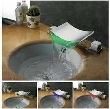 Led Bathroom Faucet by New Design Bathroom Faucet Brass Chrome Waterfall Bathroom
