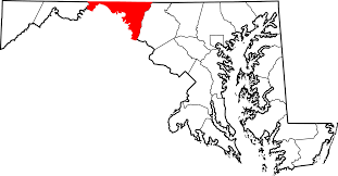 Map Of Md File Map Of Maryland Highlighting Washington County Svg
