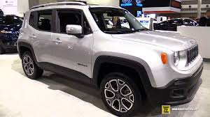 jeep renegade interior 2015 jeep renegade limited 4x4 exterior and interior walkaround