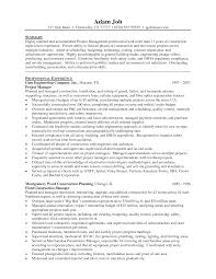 Managers Resume Sample construction management resume samples