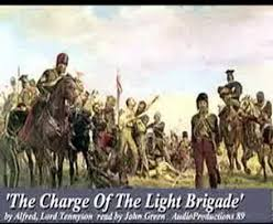 The Blind Side Charge Of The Light Brigade Tennyson Alfred Lord U0027charge Of The Light Brigade U0027 Youtube