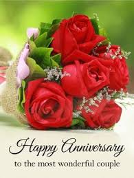 happy marriage anniversary card to a beautiful happy anniversary card is out there
