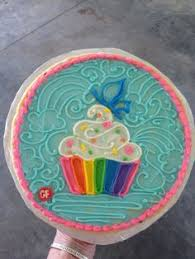 Happy Birthday Balloons Cookie Cake Buy Now Birthday Gifts