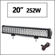 12v led light bar 20 3 row led light bar offroad combo led work light bar 12v 24v