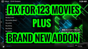 fix for 123 movies brand new addon for kodi live tv movies