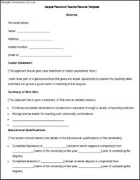 Preschool Teacher Resume Template Help Me Write Top Dissertation Proposal Online Resume Les