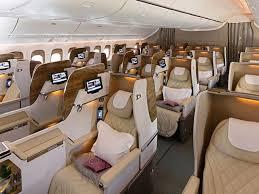 siege business air emirates airlines présente les nouvelles cabines de 777 photos