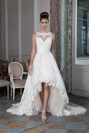 hem wedding dress port reveals dipped hem wedding dress dips wedding