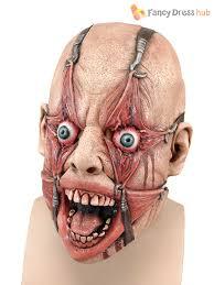 halloween skin mask halloween hamulus fear torture overhead latex rubber fancy