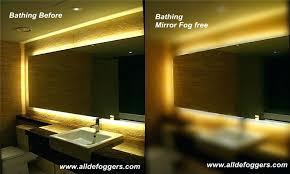 Bathroom Heated Mirror Bathroom Mirrors Lights Bathroom Mirror Light St Bathroom Mirror