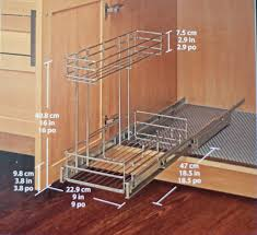 pull out cabinet organizer costco rolling shelf organizer archives miracle mommas