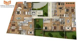 floor plan websites 5 photorealistic colored floor plans for construction marketing