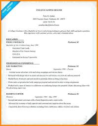 university admission resume sample student resume examples for